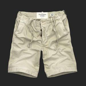 Abercrombie & Fitch Copper Kiln Trail Khaki Shorts